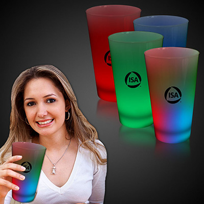 16 oz. light-up neon cups