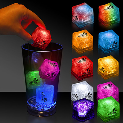 light-up ice cubes