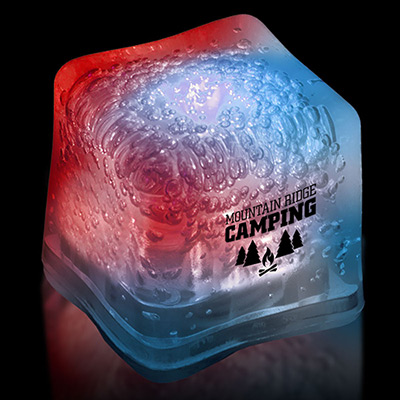 promotional ice cube