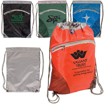 zip pouch string-a-sling