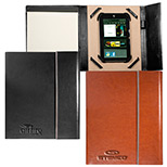 promotional vienna leather tablet portfolio