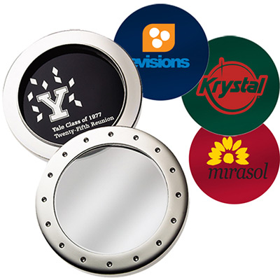 atrium™ silver magnifier paperweight