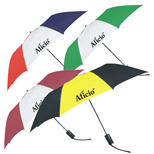 "5205T - 42"" Two-Tone Folding Promo Umbrella"