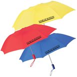 "5205 - 42"" Solid Folding Promotional Umbrella"