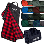 promotional fleece nylon picnic blanket