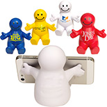 Promotional Smiley Guy Cell Phone Holder