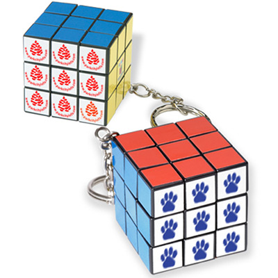micro rubiks® cube key holder