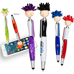 personalized stylus pen with screen cleaner
