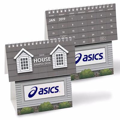house shape desk calendar