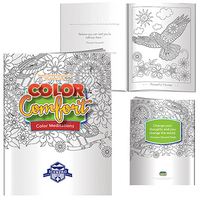 Mediations Coloring Book (Birds)
