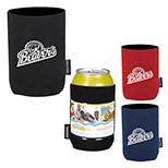 promotional  KOOZIE can kooler with business card