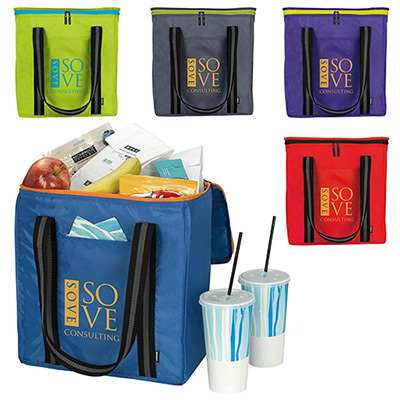 koozie® block grocery tote kooler