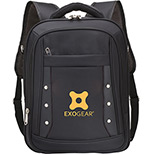 personalized Courier computer backpack