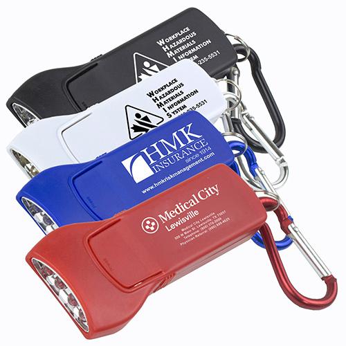 beamer 4 led carabiner keyholder