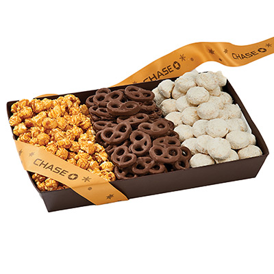 Popcorn, Pretzels & Cookie Box