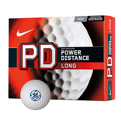 Nike® Power Distance Long Golf Ball Std Serv