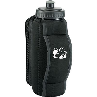 slazenger™ handheld sport bottle with phone holder