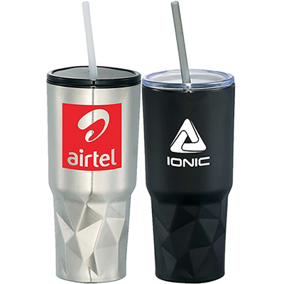 20 oz. geo travel insulated tumbler