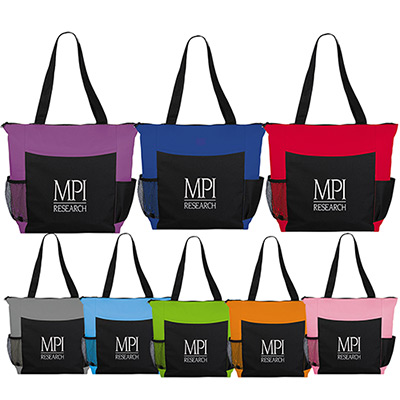 Grandview Zippered Meeting Tote