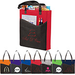 25769 - Rivers Pocket Non-Woven Convention Tote