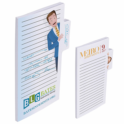 bic® sticky note 6x4 memo tabs - 25 sheet
