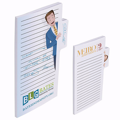 bic® sticky note 6 x 4 memo tabs (50 sheet)