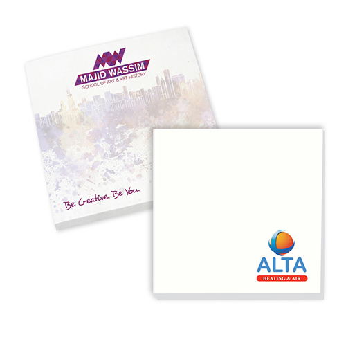 bic® 3 x 3 notepads (25 sheets)