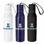 25898 - 18 oz. Vacuum Insulated Bottle with Carry Loop