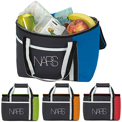 Calling All Stripes Lunch Cooler