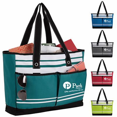Two-Pocket Fashion Tote