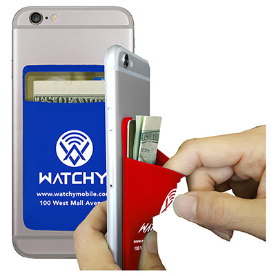 stretchy cell phone wallet