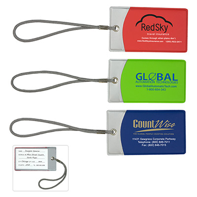 Vibrant Luggage Tags
