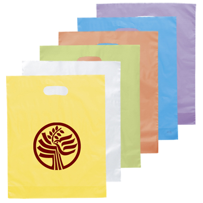 Medium Die Cut Frosted Brite Bag