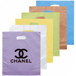 6674 - Large Die Cut Frosted Brite Bag