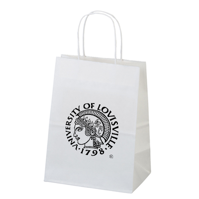 Reusable Custom Paper Bags Imprinted With Your Logo