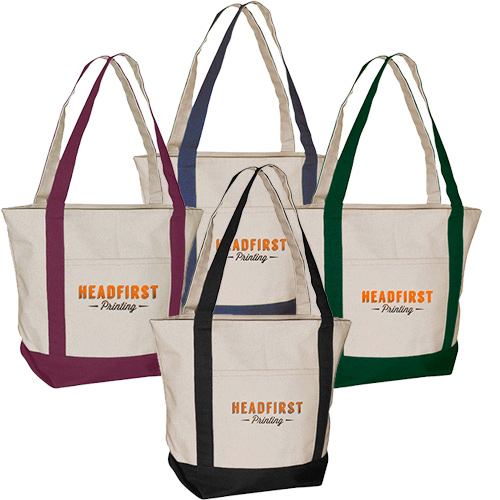 standard boat tote - full color