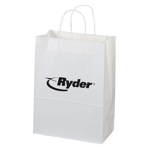 white paper shopper bag-jenny