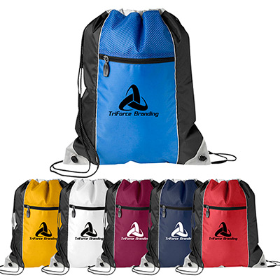 triad drawcord bag