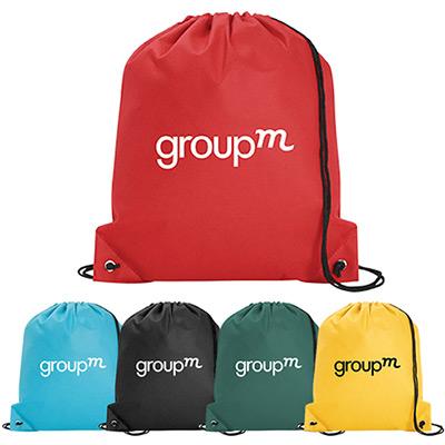 non-woven poly pro drawstring bag