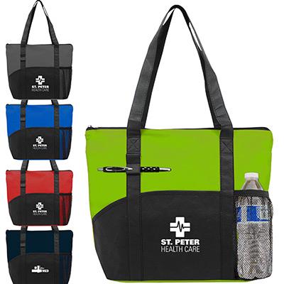 Polypro Pocket Tote Bag