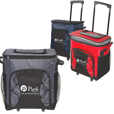 diamond 54 can rolling cooler bag