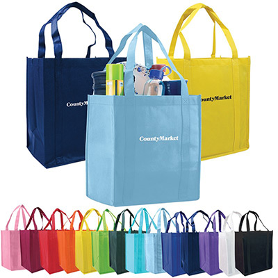 Nonwoven Grocery Tote