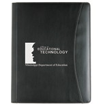 Promotional Crescent Padfolio, Personalized Crescent Padfolio