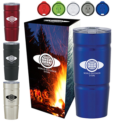 24 oz. Ursa Stainless Steel Tumbler with Custom Box