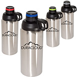 26167 - 33 oz. Double Wall Stainless Steel Vacuum Bottle