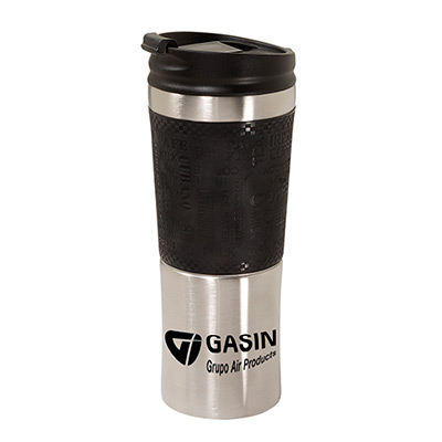 16 oz. Vacuum Auto Tumbler with Silicone Grip