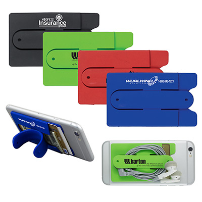 Cell Phone Kickstand & Wallet