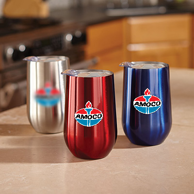 16 oz. stainless wine cup - full color