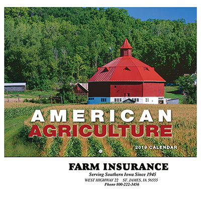 American Agriculture Wall Calendar - Stapled
