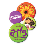 Promotional Buttons, Overstock Promotional